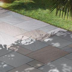 Global Stone 'Gardenstone' Sandstone Paving - Autumn Brown