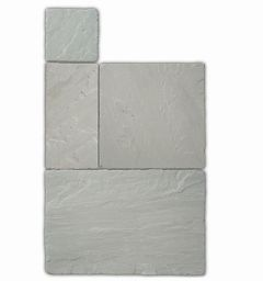 Global Stone 'Old Rectory' Sandstone Paving - Castle Grey