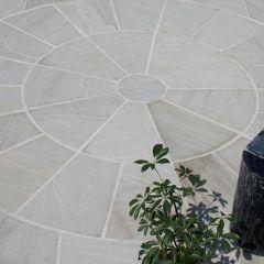 Strata Stone Classic Sandstone Paving Circle - Grey