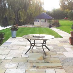 Stone Paving Traditional Sandstone - Fossil