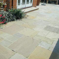 Global Stone Premium Sandstone Paving - York Green (600 Series)