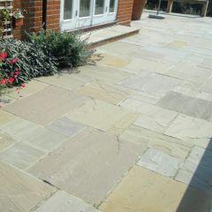Global Stone Premium Sandstone Paving York Green