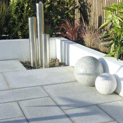 Global Stone 'Polar Granite' Paving Collection - Silver Grey