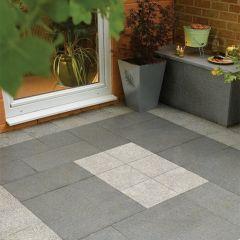 LivingStone Graphite Grey Granite Flagstones