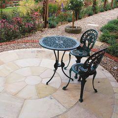 Global Stone Premium Sandstone Circle - Mint