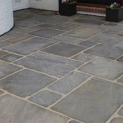 Global Stone 'Old Rectory' Sandstone Paving - Monsoon