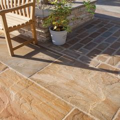 Global Stone 'Old Rectory Victorian' Sandstone Pavers - Buff Brown