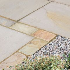 Global Stone 'Old Rectory Victorian' Sandstone Pavers - York Green