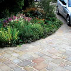 Global Stone Old Rectory Collection Cobbles - York Green