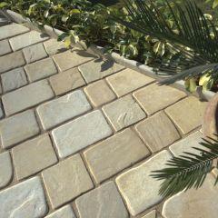 Strata Stone Paving Setts - Mint