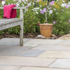 Global Stone Premium Sandstone Paving Country Green