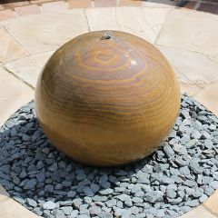 Global Stone Rainbow Sphere Drilled - 600mm