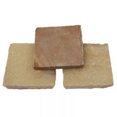 Global Stone Premium Sandstone Pathway Setts - Modak Rose