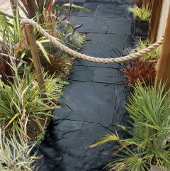 Global Stone 'Slate Collection' Paving - Carbon Grey