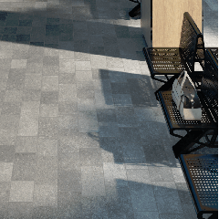 Global Stone 'Small Size' Porcelain - Texture Grey