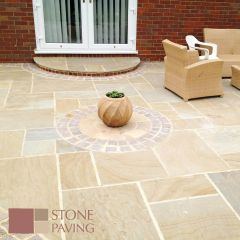 Stone Paving Traditional Sandstone - Buff Blend