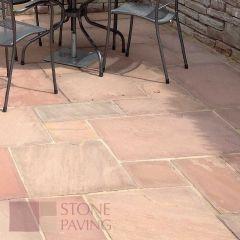 Stone Paving Traditional Sandstone - Heather