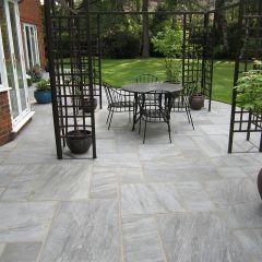 Stone Paving Traditional Sandstone - Umbra