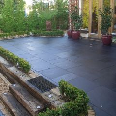 Strata Stone 'Whitchurch' Collection - Black Lime