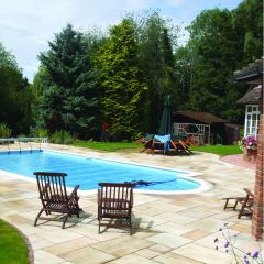 Strata Stone 'Whitchurch' Collection Paving - Mint