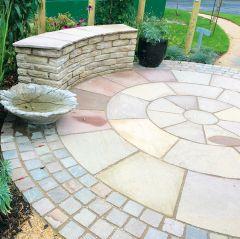 Global Stone Premium Sandstone Circle - York Green